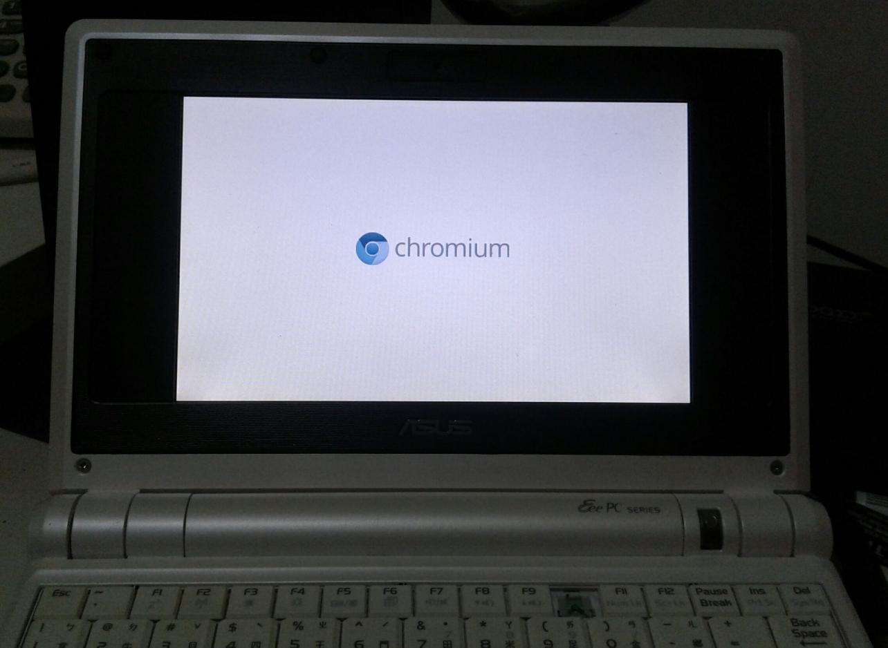 一代EPC安裝OS畫面